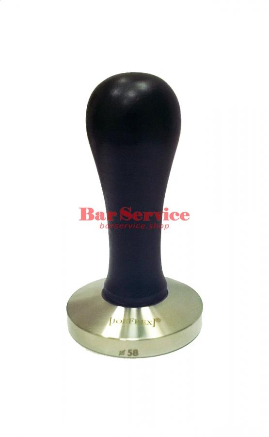 Темпер JoeFrex D58 Elegance черный выпуклый сталь в Орле