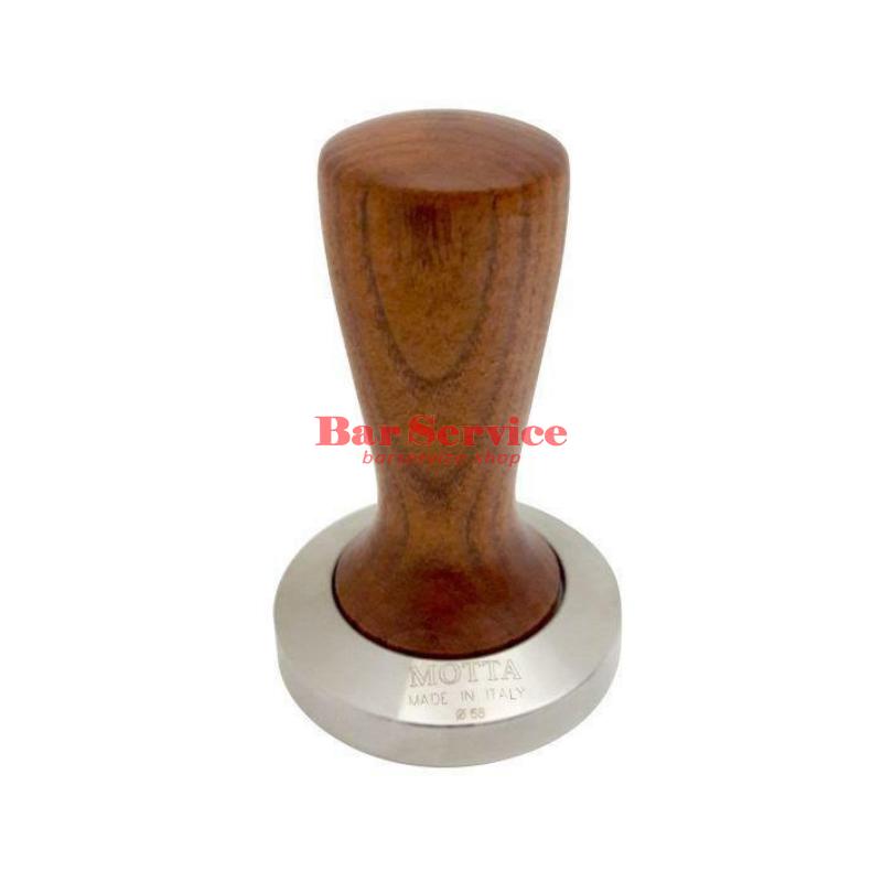 Темпер Мотта SLIM 58 мм. (плоский) рукоятка из дерева в Орле