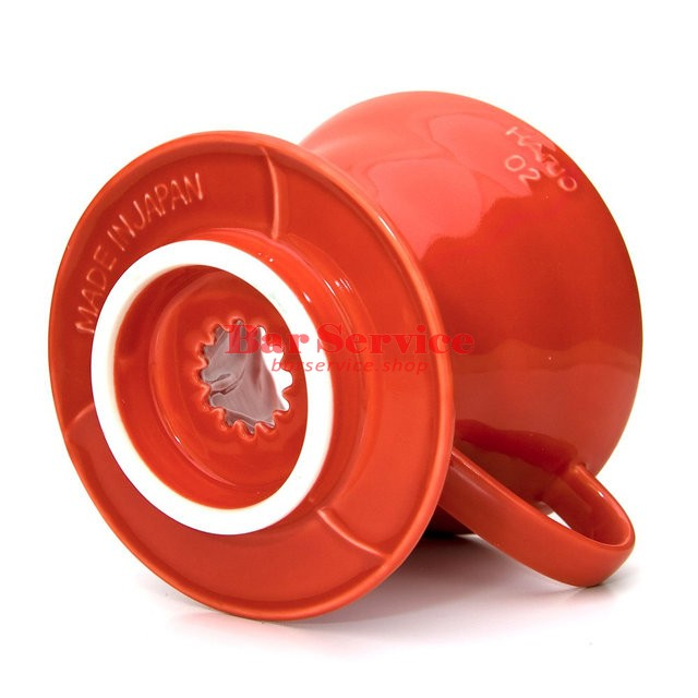 Hario VDC-02R. Воронка керамическая красная. 1-4 чашки в Орле