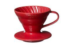 Hario VDC-02R. Воронка керамическая красная. 1-4 чашки в Орле bottom